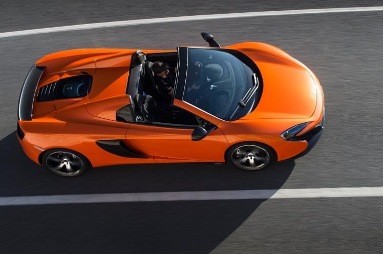 McLaren 650S Spider có giá tính lệ phí trước bạ cao nhất là 22,02 tỷ đồng.